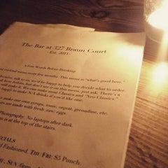 Photo taken at The Bar at 327 Braun Court by Joe W. on 9/20/2015