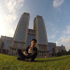Photo taken at 复旦大学   Fudan University by Whitley T. on 9/2/2014