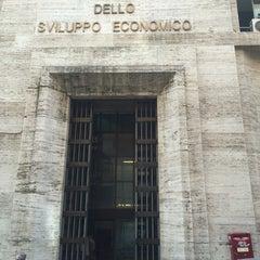 Photo taken at Ministero dello Sviluppo Economico by Digitalbande M. on 7/9/2014
