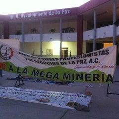 Photo taken at H. Ayuntamiento de La Paz by Sociedad A. on 5/21/2014