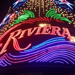 Photo taken at Riviera Hotel & Casino by Bruno A. on 4/5/2013