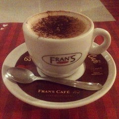 Photo taken at Fran's Café by Eduardo S. on 6/10/2013