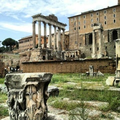Photo taken at Foro Romano by Alexandre L. on 9/29/2012