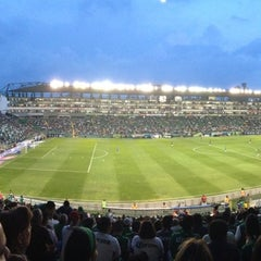 Photo taken at Estadio León by Marcos A. on 7/21/2013
