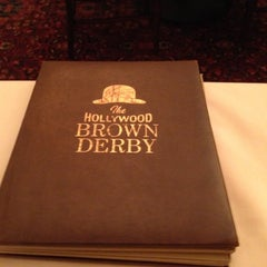 Photo taken at The Hollywood Brown Derby by Paul J. on 10/13/2012