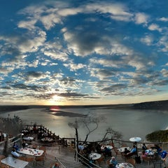 Photo taken at The Oasis on Lake Travis by William T. on 2/17/2013