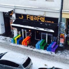 Photo taken at Falafel in Berlin by Aleksandra J. on 12/29/2014