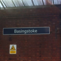 Photo taken at Basingstoke Railway Station (BSK) by Phil A. on 12/12/2012