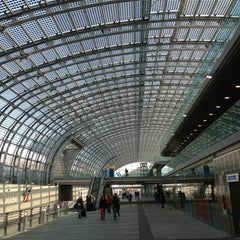 Photo taken at Stazione Torino Porta Susa by Carlo V. on 4/3/2013