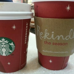 Photo taken at Starbucks by angelica e. on 12/20/2012
