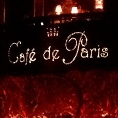 Photo taken at Café de Paris by ♛ Altuğ T. on 3/13/2013
