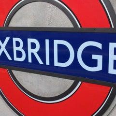 Photo taken at Uxbridge London Underground Station by Korndanai A. on 11/22/2012
