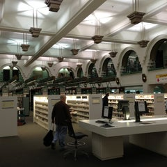 Photo taken at Beverly Hills Public Library by David A. on 3/20/2013