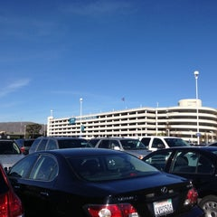 Photo taken at SFO Long Term Parking by Bay Area D. on 11/22/2012