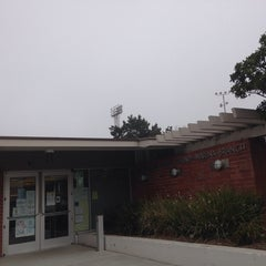 Photo taken at Marina Branch Library by Bay Area D. on 12/13/2013