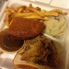 Photo taken at Smoken Joe's BBQ by Kate M. on 1/24/2014