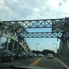 Photo taken at Boston University Bridge by Kate M. on 7/18/2013