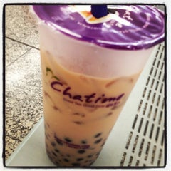 Photo taken at Chatime 日出茶太 by Yvo G. on 2/7/2013