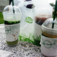Photo taken at Café Amazon (คาเฟ่ อเมซอน) by Lanisorn C. on 9/5/2014