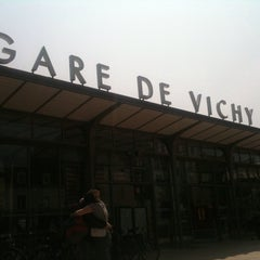 Photo taken at Gare SNCF de Vichy by Cecile G. on 7/13/2013