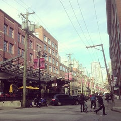 Photo taken at Yaletown - Roundhouse SkyTrain Station by Phil L. on 2/15/2013