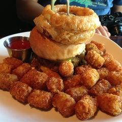 Photo taken at B & B Winepub (Burger & Barrel) by Nora C. on 6/8/2013