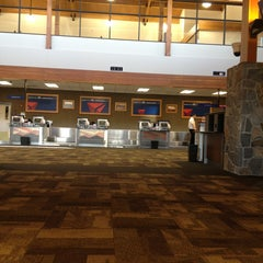 Photo taken at Bozeman Yellowstone International Airport (BZN) by Luis A G. on 2/15/2013