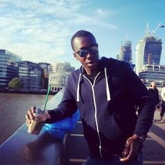 Photo taken at London Bridge City Pier by Mwachala N. on 5/28/2013