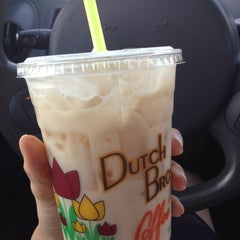 Photo taken at Dutch Bros. Coffee by Joanne C. on 4/8/2013