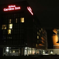 Photo taken at Hilton Garden Inn Leiden by Slavon M. on 5/22/2014