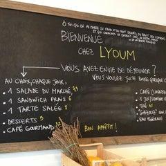 Photo taken at LYOUM by Khalil D. on 12/22/2012