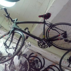 Photo taken at Tread Bike Shop by DanLikes on 3/3/2013