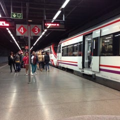 Photo taken at RENFE El Clot-Aragó by Gabriel on 4/17/2014