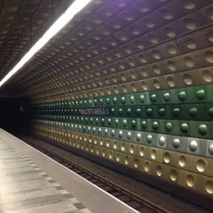 Photo taken at Metro =A= Malostranská by Slavomír S. on 11/3/2012