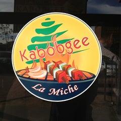 Photo taken at Kabobgee by Laura on 3/3/2013