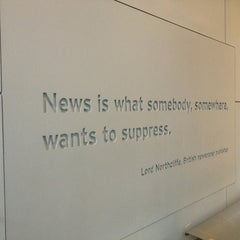 Photo taken at Newseum by Teresa on 6/30/2013