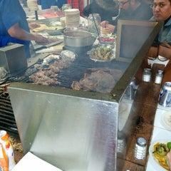 Photo taken at Tacos El Franc by César F. on 1/25/2015