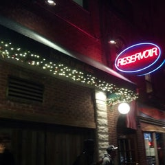 Photo taken at Reservoir Bar by Melody d. on 12/7/2012