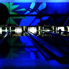 Photo taken at Memory Lanes and the Flashback Cafe by Marina G. on 4/17/2013