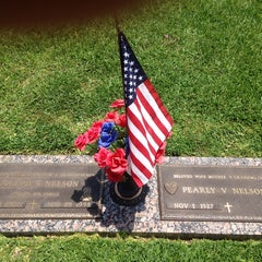 Photo taken at Forest Park Cemetery by Annette S. on 7/4/2014