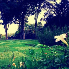 Photo taken at Parque Burle Marx by Daniel S. on 12/26/2012