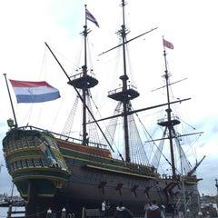 Photo taken at Het Scheepvaartmuseum by Justin A. on 11/8/2015