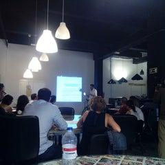 Photo taken at Cocorocó Coworking by María José R. on 6/26/2014