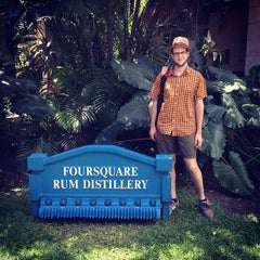 Photo taken at Foursquare Rum Factory and Heritage Park by Jesse M. on 2/3/2013