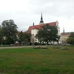 Photo taken at Moravské náměstí by Martin O. on 9/27/2012