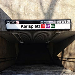 Photo taken at U Karlsplatz by Martin O. on 3/6/2013