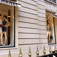 Photo taken at CHANEL Boutique by summer ssong ssong k. on 5/26/2013