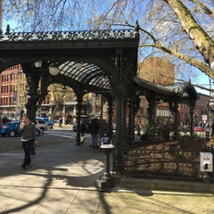 Photo taken at Pioneer Square by John R. on 4/4/2016