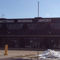 Photo taken at Wittman Regional Airport (OSH) by Rose D. on 2/16/2012