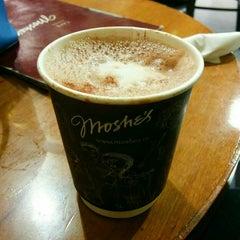 Photo taken at Café Moshe's by Taarini NB {. on 8/21/2015